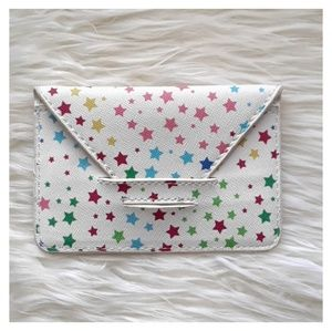 URBAN OUTFITTERS Star Print Wallet Card Holder